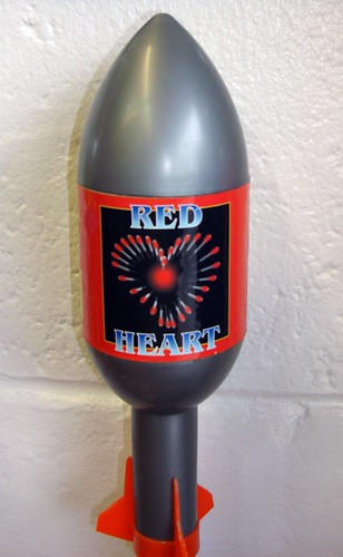 RED Love HEART ROCKET