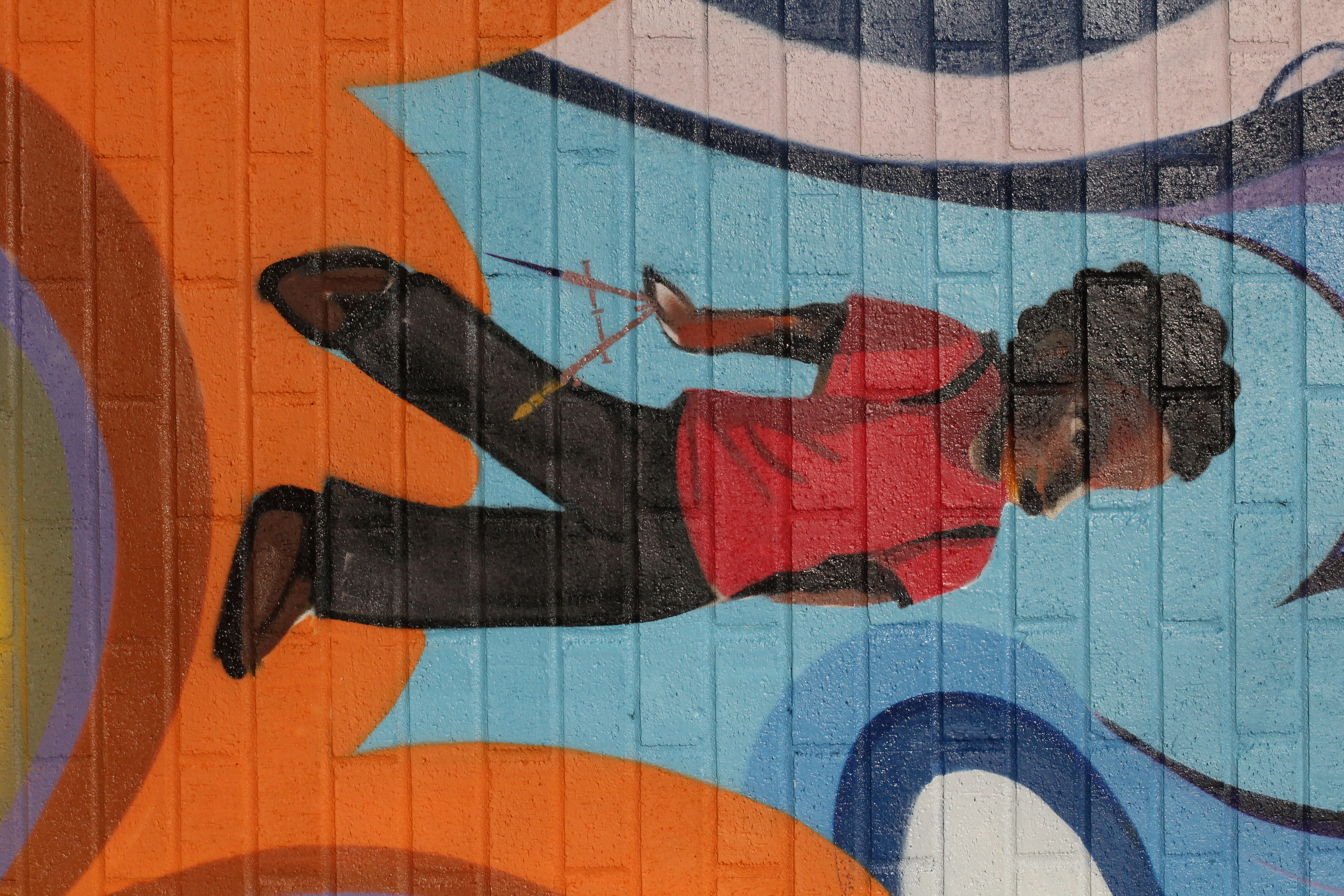 Malcolm x elementary school mural flickr photo sharing for Malcolm x mural