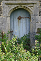 Gunwalloe Church Door