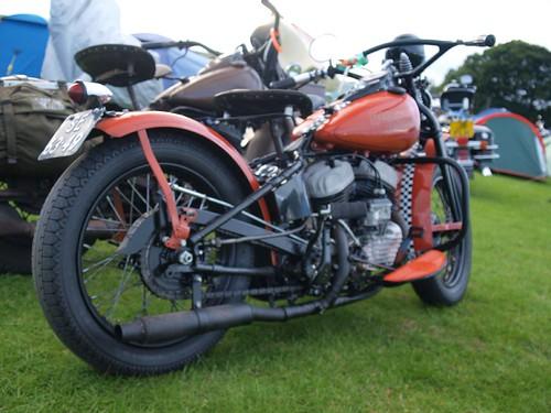 Harley Davidson Vintage Motorbikes