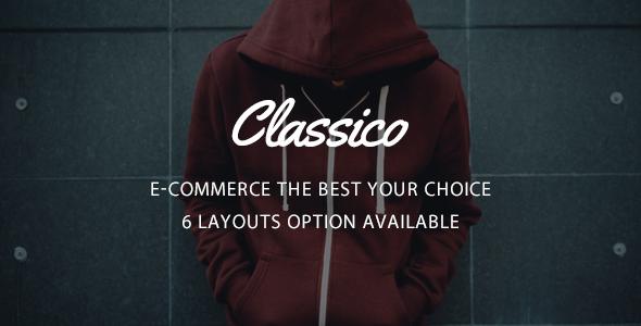 Classico v1.0 – Responsive Prestashop 1.6, 1.7 Theme