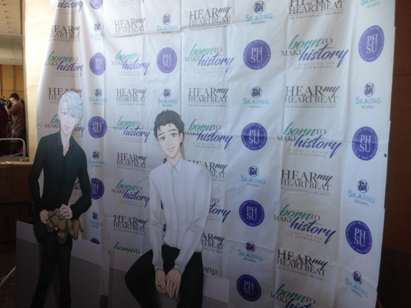 Born To Make History: A Yuri!!! on ICE Fan Gathering Event Report 01