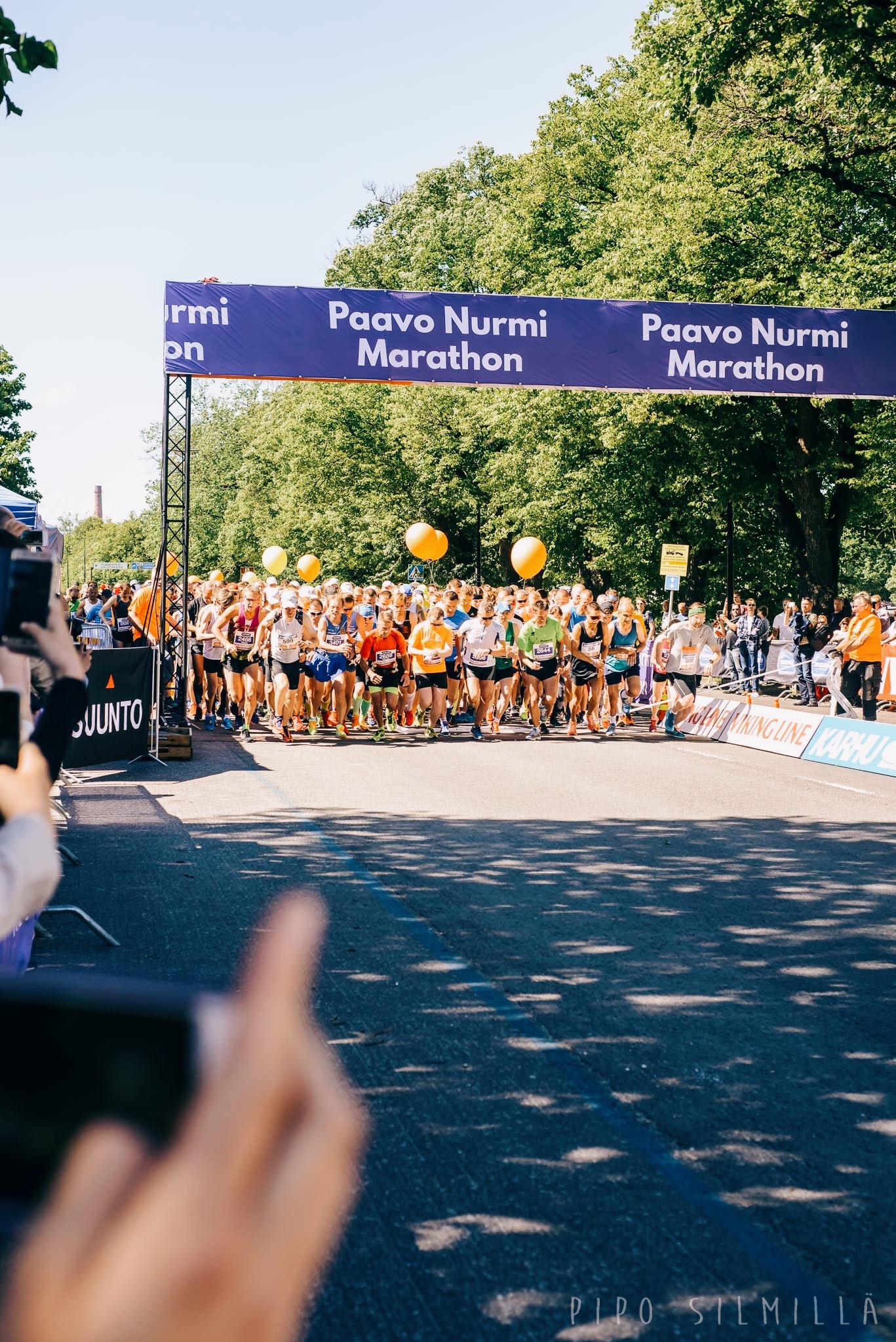 Paavo Nurmi Maraton 2017
