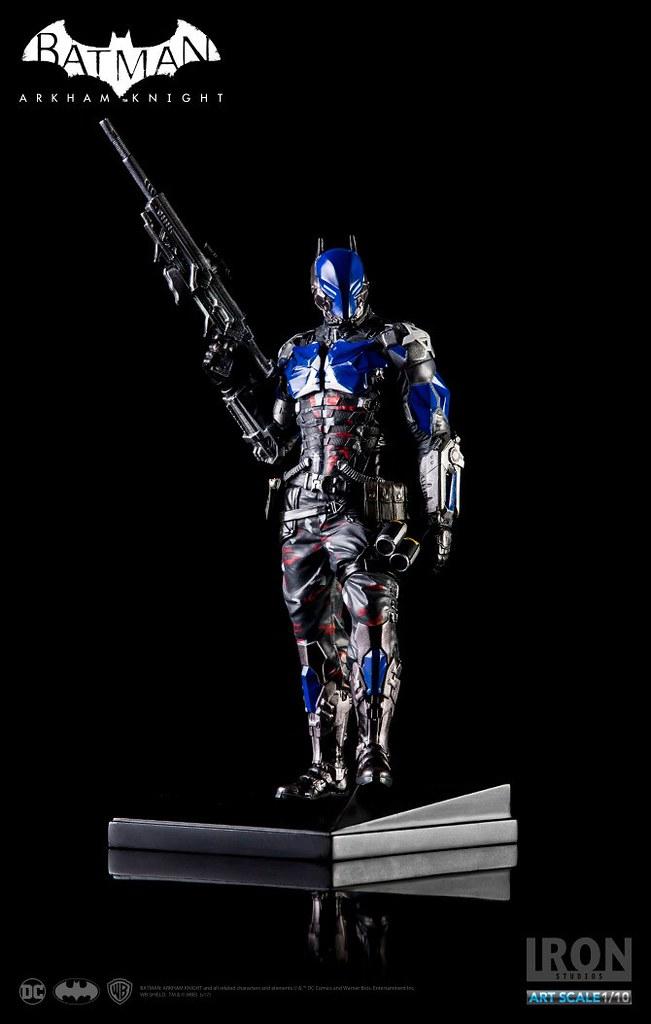 Iron Studios 蝙蝠俠:阿卡漢騎士【阿卡漢騎士】Arkham Knight 1/10 比例全身雕像作品