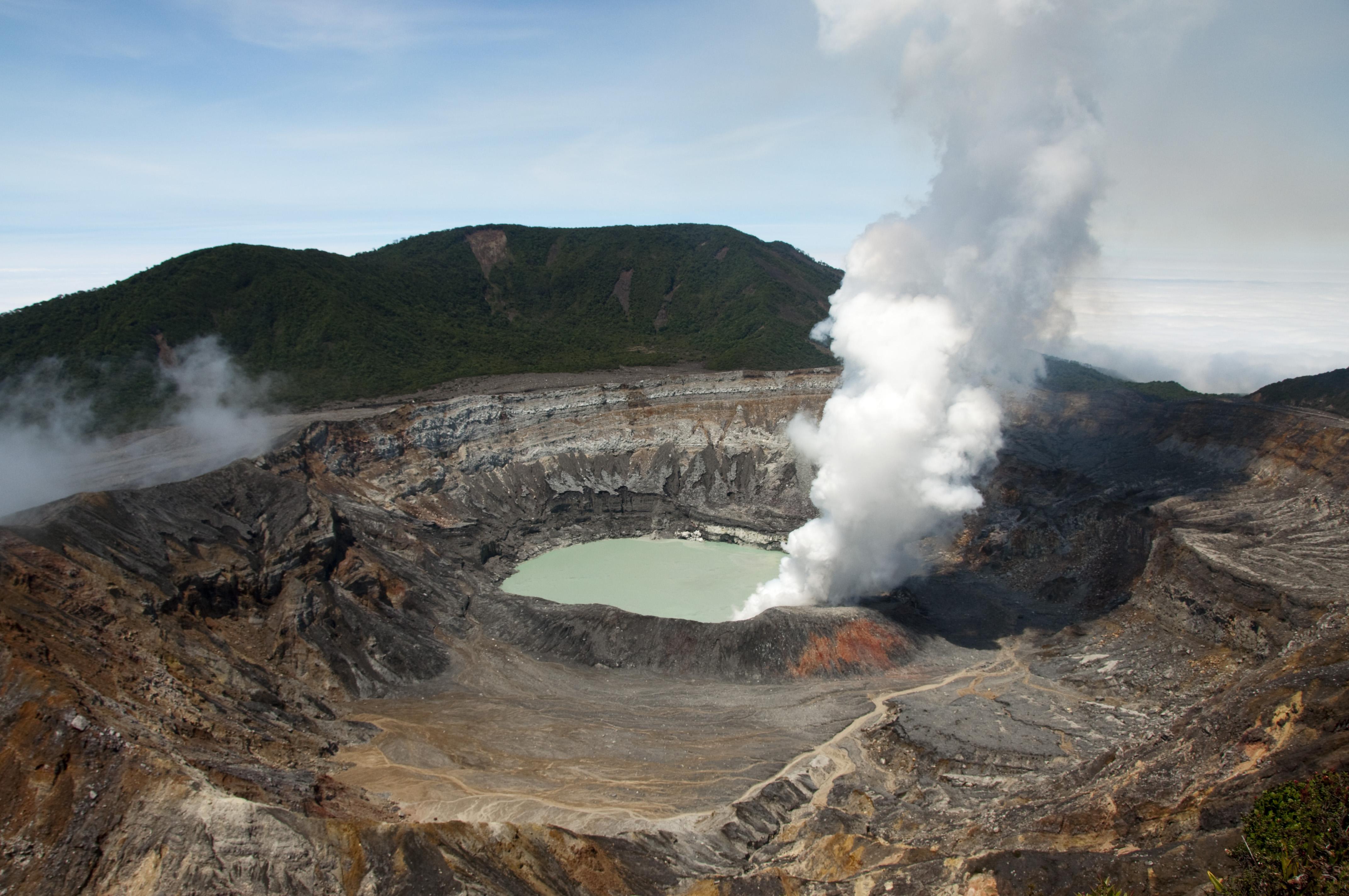 Visit Poas National Park when it reopens