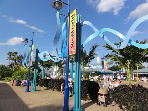 SeaWorld - entrance