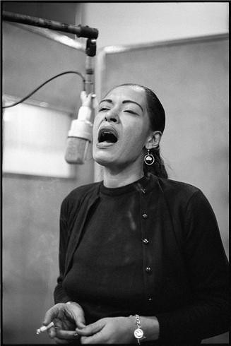 Billie Holiday, by Don Hunstein