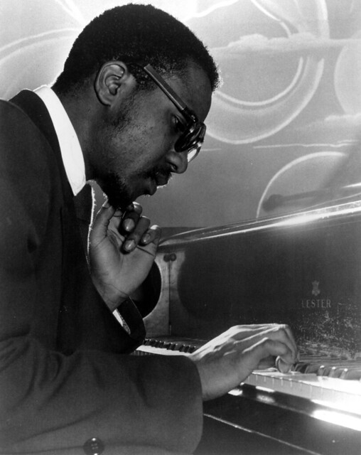 Thelonious Monk, by William P. Gottlieb