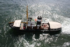 fast attack craft(0.0), skiff(0.0), fishing trawler(0.0), pilot boat(0.0), motorboat(0.0), fishing vessel(0.0), tugboat(0.0), vehicle(1.0), ship(1.0), sea(1.0), patrol boat(1.0), watercraft(1.0), boat(1.0),