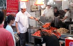 butcher(0.0), taste(1.0), fish(1.0), street food(1.0), food(1.0), dish(1.0), cuisine(1.0), person(1.0), fast food(1.0),