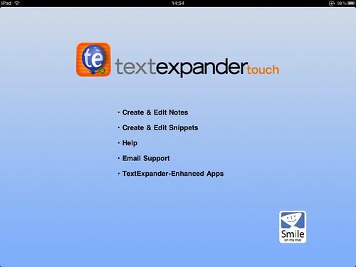 textexpander ホーム画面 - 無料写真検索fotoq