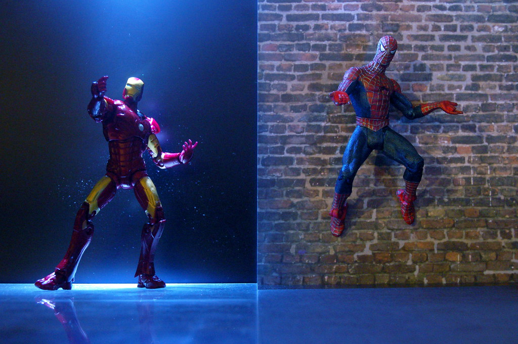 Iron Man vs. Spider-Man (180/365)