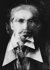 Vortograph of Ezra Pound, by Alvin Langdon Coburn c.1916
