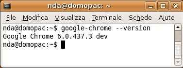 Che versione di Chrome abbiamo? (da riga di comando)