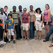 the whole group at cape coast castle