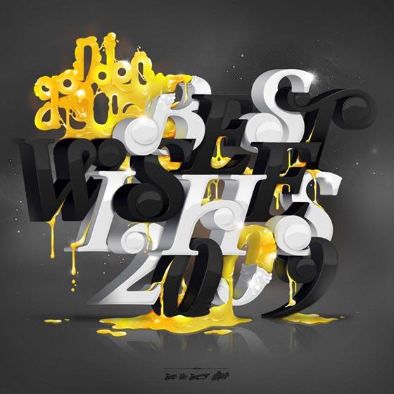 Ejemplos de lo mejor en dise o tipogr fico en el a o 2009 for Design hochbett fa r erwachsene