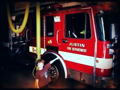 Justin's namesake fire dept