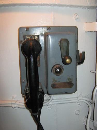 Ship phone, HMCS Haida
