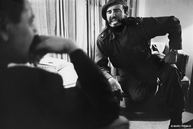 Fidel Castro, Cuba, by Marc Riboud 1963