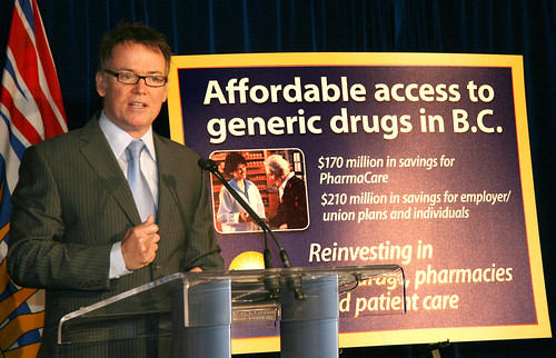 Generic Drugs by BC Gov Photos
