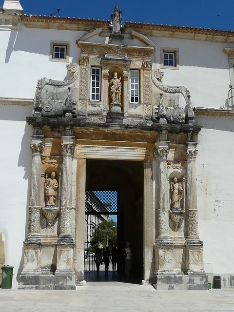 Porta Ferrea from inside the courtyard