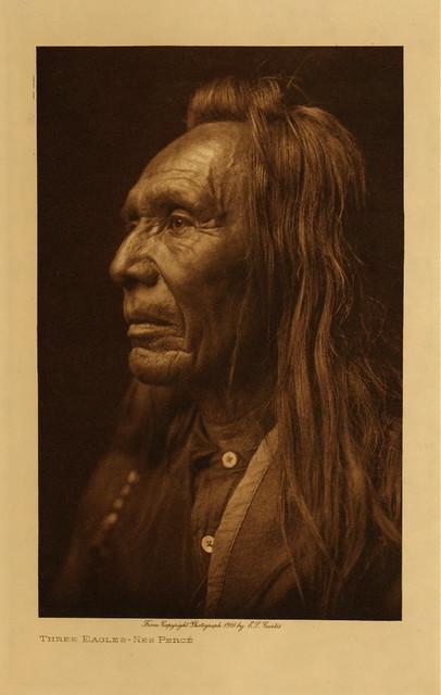 Three Eagles (Nez Perce), by Edward S. Curtis 1910