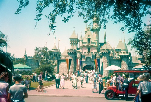 Sleeping Beauty's Castle - Disneyland 1959