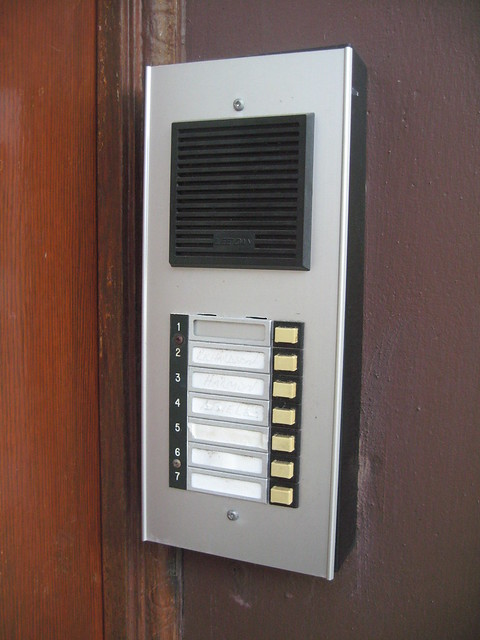 Front door intercom flickr photo sharing for Front door video intercom