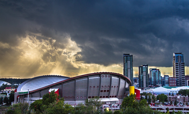 Sunbeams Over the Calgary Stampede
