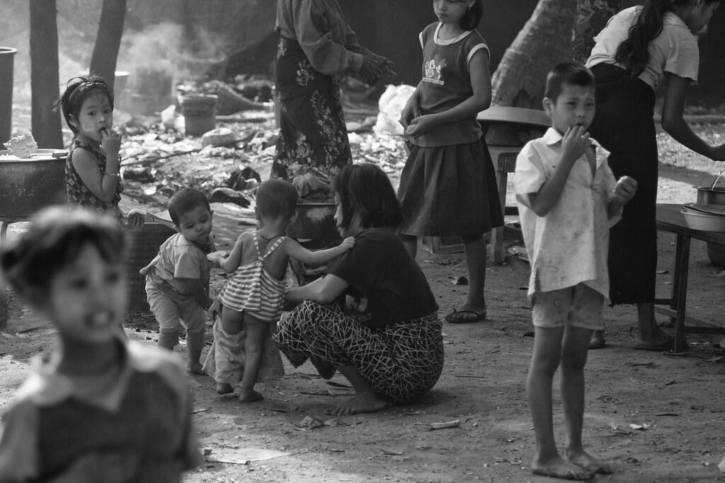 A Scene On Mae Sot Dump, Thailand