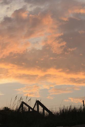 sunsets northcarolina beaches atlanticocean 2010 topsailisland surfcity beautysecret pendercounty canonxsi
