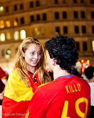 World Cup 2010:  Spanish Victory Celebrations (5)