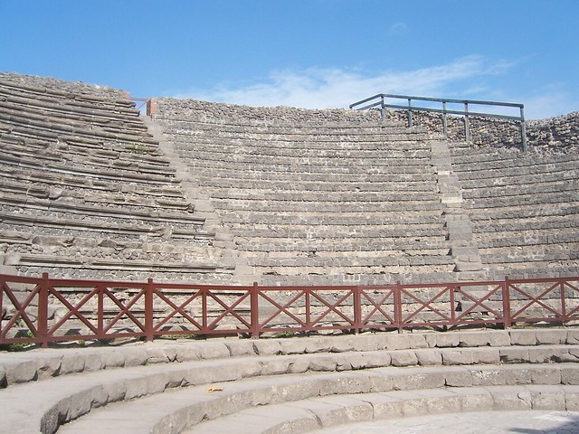 The Roman Theatre, Pompeii