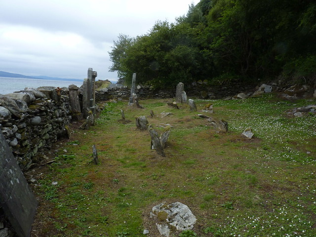 Old burial Ground, Lennimore, Isle of Arran