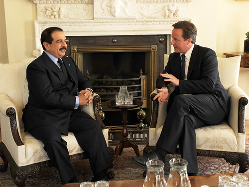 PM and the King of Bahrain