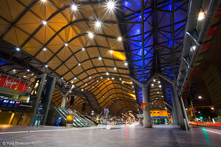 Melbourne, Australia :: Southern Cross Station