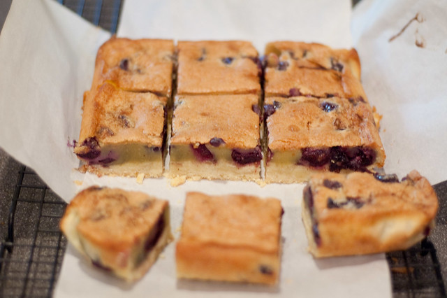 Brown butter cherry bars | Flickr - Photo Sharing!