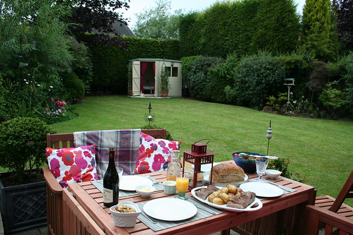 Summer al fresco supper