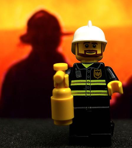 06/365 Lego Fireman