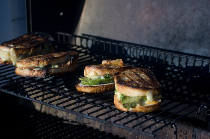 Weekend.Grilled Cheese Sandwiches.