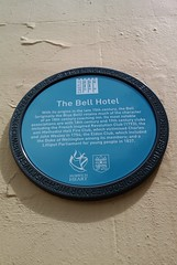 Photo of Bell Hotel, Norwich blue plaque