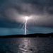 Lightning over Sunapee
