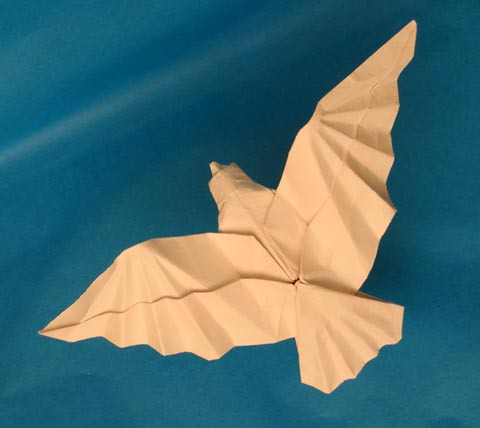 How To Make A Origami Dove Step By Step