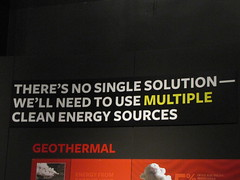 Multiple Solutions, Multiple Energy Sources