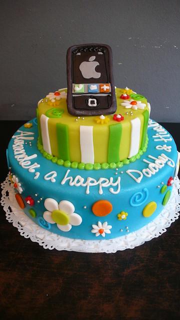 Ascii Art Birthday Cake Iphone : iPhone 4 birthday cake Flickr - Photo Sharing!