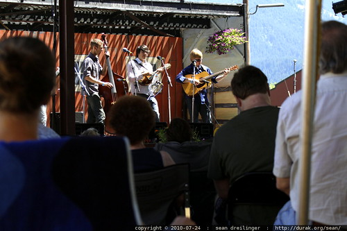 northern departure at the columbia gorge bluegrass festival