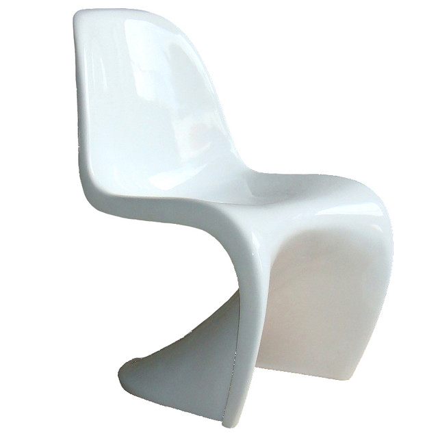 White panton chair designed in 1967 flickr photo sharing - Who designed the panton chair ...