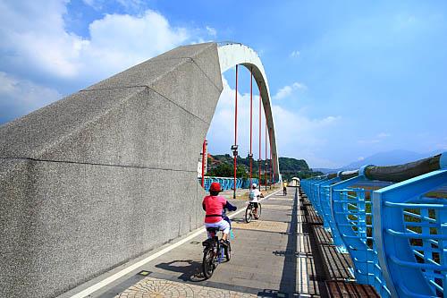 305J八里左岸自行車道-觀音坑溪橋