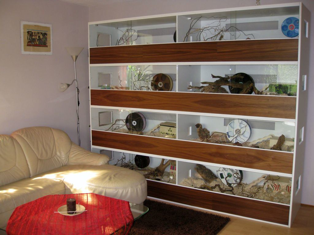 DIY Hamster Cage  Ikea Lack Cage 110 x 55cm