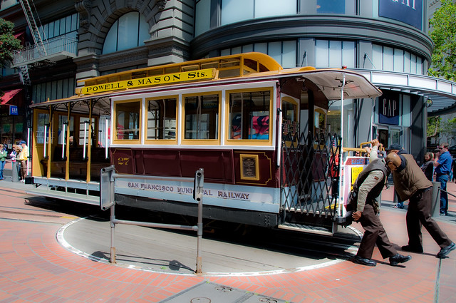 San Francisco Cable Car by flickr user Tony Fischer Photography